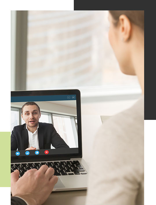 virtual video conference coaching