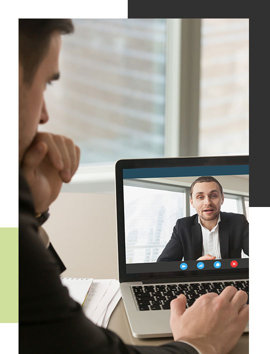 virtual video conference coaching
